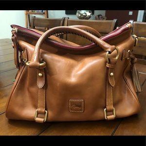 Florentine Vanchetta Small Leather Satchel